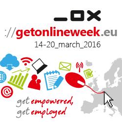 Città della Cultura alla Get Online Week2016